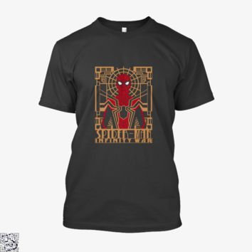 Spider Man Infinity War Art Deco, Avengers Infinity War Shirt