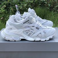 Balenciaga Trainers Track 2 In White Sneakers - Best Online Sale