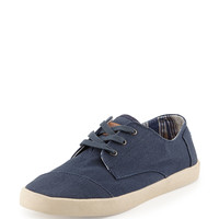 Paseos Classic Canvas Sneaker, Navy - TOMS - Navy