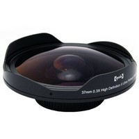 Opteka Platinum Series 0.3X HD Ultra Fisheye Lens for Sony DCR-SR37, SR38, SR40, SR42, SR45, SR46,...