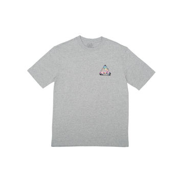 Tri-Works T-Shirt Grey | Palace Skateboards