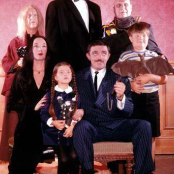 Addams Family Tv Poster Standup 4inx6in