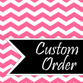 Custom Orders for Premade Scrapbook Layouts or DIY Page Kits
