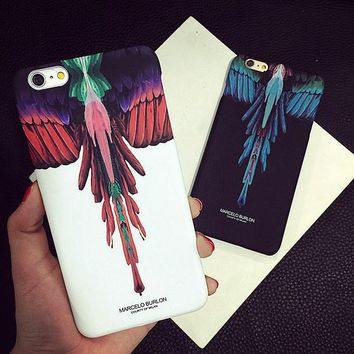 Angel Wing Feather Case for iPhone