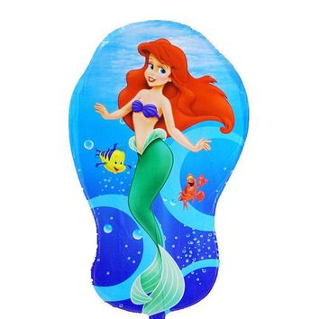 1PC The Little Mermaid foil balloons Ariel of cartoon princess balloon helium kids birthday decor globos party supplies