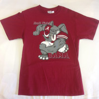 NCAA Alabama Crimson Tide Roll Tide Mens Tshirt
