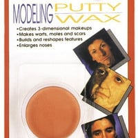 costume accessory: modeling putty wax carded
