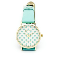 Polka dot watch (4 colors)