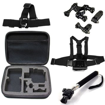5 in 1 Sports Outdoor Accessory Kit For GoPro Cameras