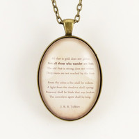 Custom Poem Necklace, Personalized Pendant For Song Lyrics Or Poem