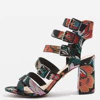 NOVA Multi Buckle Sandals - Heels - Shoes