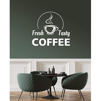 Vinyl Wall Decal Coffee House Cup Cafe Decoration Art Interior Stickers Mural (ig5922)