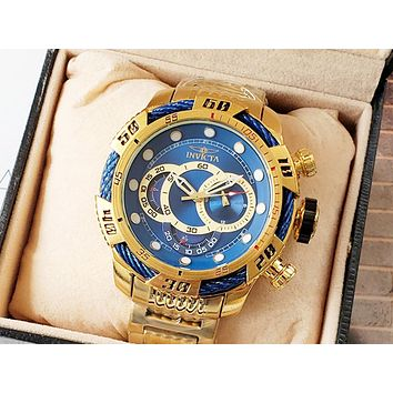 INVICTA Tide brand men and women models high-grade waterproof quartz watch