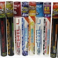 ONETOW CYCLONES CLEAR AND REGULAR PRE ROLLED CONES MULTIPACK ASSORTED FLAVOR PACK OF 10