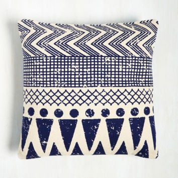 Throw Cushion to the Wind Pillow