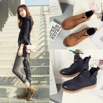 Women Low Ankle Boots