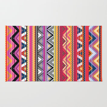 Aztec #6 Area & Throw Rug by Ornaart