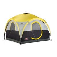 Coleman All Day 4 Person 2-For-1 Dome Tent and Shelter