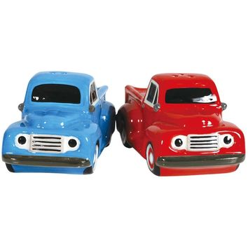 1940's Ford F-1 Salt And Pepper Shaker Set