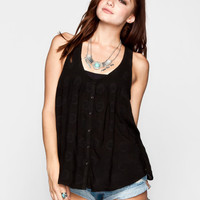 O'neill Mon Amie Womens Tank Black  In Sizes