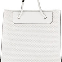 Alexander Wang Prisma 3D mesh-effect leather tote – 55% at THE OUTNET.COM