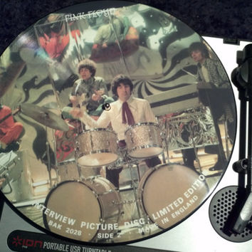 Pink Floyd Limited Edition Vinyl Record Album Interview Picture Disc
