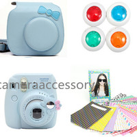 Aliexpress.com : Buy New Arrival CAIUL 4 In 1 Fashion Cute Bowknot PU Leather Bag Fujifilm Instax Mini 8 Instant Camera Accessory Bundles Set from Reliable instax set suppliers on cameraaccessory