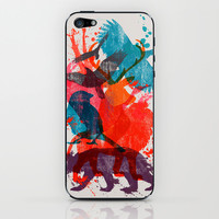 It's A Wild Thing iPhone & iPod Skin by Dan Elijah G. Fajardo