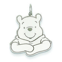 Sterling Silver Disney Winnie the Pooh Charm WD179SS