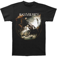 Black Veil Brides Men's  Winged Legion Slim Fit T-shirt Black