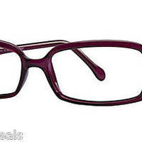 NEW AUTHENTIC FENDI F705 COL 535 DARK VIOLET PLASTIC EYEGLASSES FRAME FENDI 705