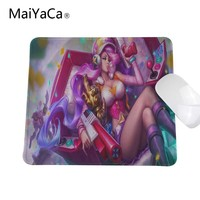 Custom Lol Mousepad Arcade Miss Fortune Mouse Pad Gaming Mouse Pad Gamer League Personalized Mouse Pads Of Legends Keyboard Pad