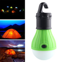 Portable 3LED Camping Tent Light Bulb Fishing Lantern Lamp Outdoor Hanging Soft Lighting Light New