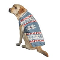 Chilly Dog Snowflake Dog Sweater