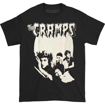 Cramps Men's  Cramps Group Photo T-shirt T-shirt Black