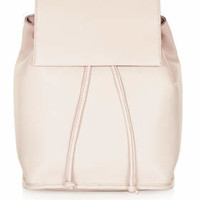 Premium Clean Leather Backpack - Pink