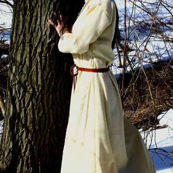 Early Medieval Dress made of wool, Viking Dress, Middle Ages, T-tunic dress based on Birka sources, Scandinavia