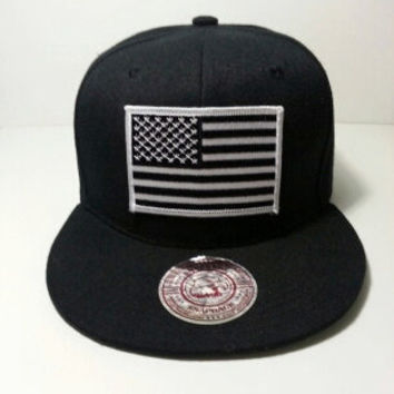 USA Flag Snapback by Stereotype Co