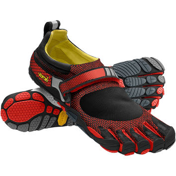 Vibram FiveFingers Bikila Evo WP Running Shoe - Men's Black/Grey/Red,