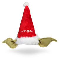 ThinkGeek :: Star Wars Yoda Holiday Hat