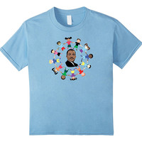 MLK - Martin Luther King Jr With Children TShirt