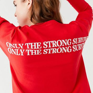 Only The Strong Survive Long Sleeve Tee | Urban Outfitters Canada