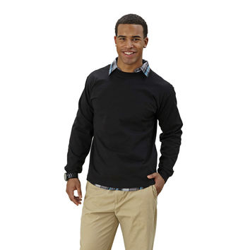 Adult Long Sleeve Crew Neck Classic Fit - Free