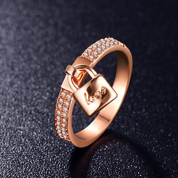 Trendy Zinc Alloy Wedding Cocktail Ring For Women Cri0145-a