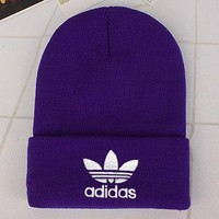 Adidas Fashion Edgy Winter Beanies Knit Hat Cap-15