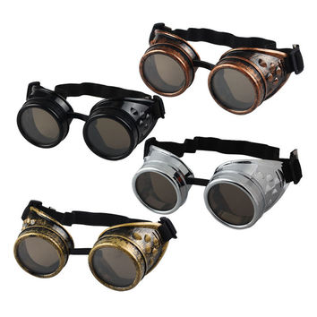 Vintage - Gothic  Steampunk Sunglasses - Cosplay