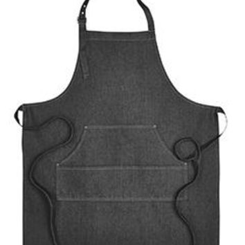 Artisan Collection by Reprime - Unisex Jeans Stitch Denim Bib Apron