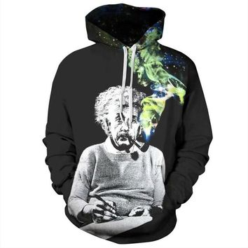 Einstein Smoking - Trippy Unisex Hoodies