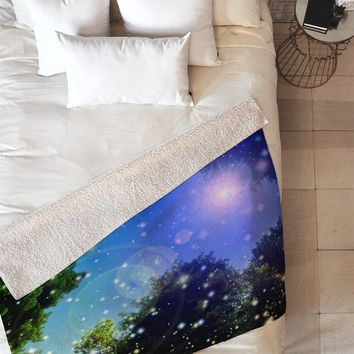 Lisa Argyropoulos Make A Wish 1 Fleece Throw Blanket