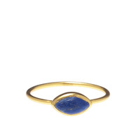 Oval Afghan Lapis Ring